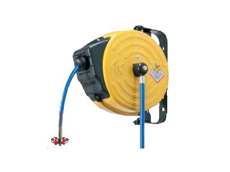 Enrollador manguera aire comprimido elube aspiraci n y for Manguera para aire comprimido