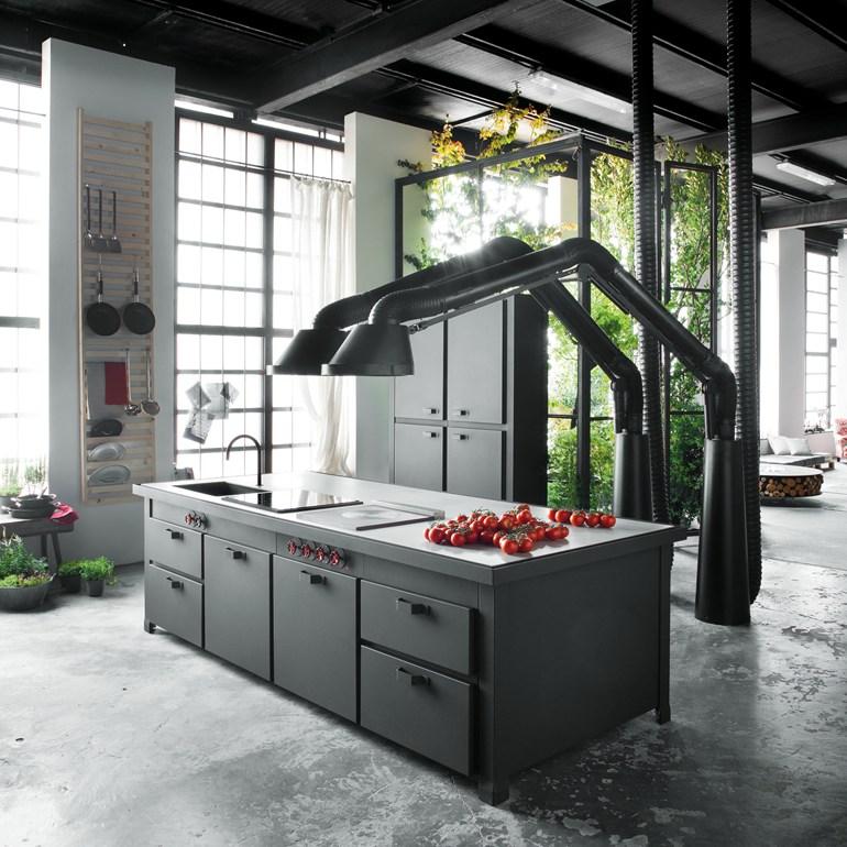Aspiracion De Humos Para Cocinas Futuristas Elube Aspiracion Y - Cocinas-futuristas