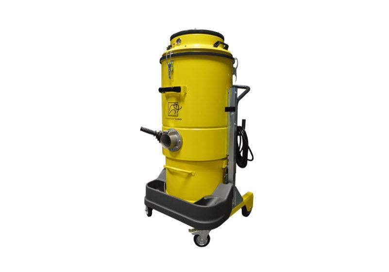 Aspirador industrial monofásico tres motores