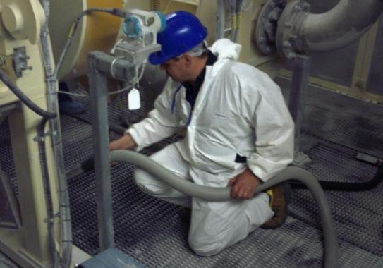 Aspiradores para mantenimiento industrial
