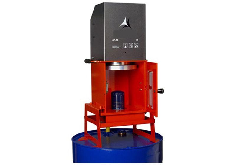 Prensa para filtros de aceite